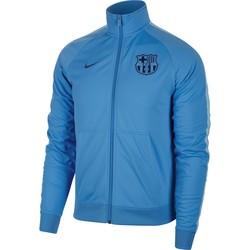 Veste survêtement FC Barcelone bleu ciel 2018/19