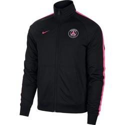 Veste survêtement PSG noir rose 2018/19
