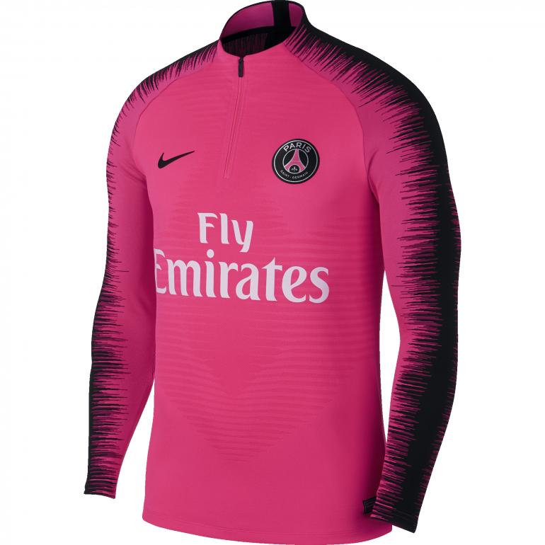 Sweat Zippé PSG VaporKnit rose 2018/19