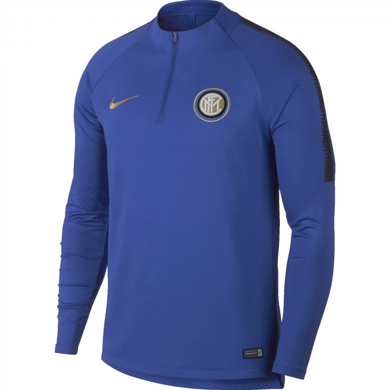 Sweat zippé Inter Milan bleu 2018/19
