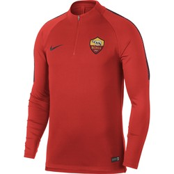 Sweat zippé AS Roma rouge 2018/19