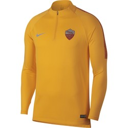 Sweat zippé AS Roma jaune 2018/19