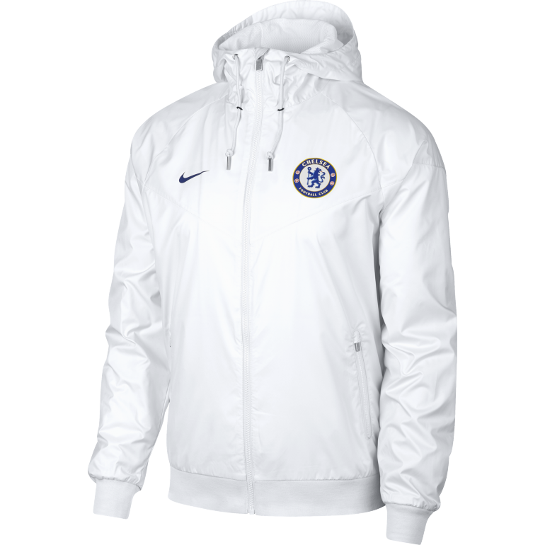 Coupe vent Chelsea blanc 2018/19
