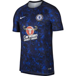 Maillot entraînement Chelsea camouflage bleu 2018/19