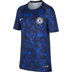 Maillot entraînement junior Chelsea camouflage bleu 2018/19