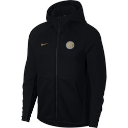 Veste survêtement Inter Milan Tech Fleece noir or 2018/19