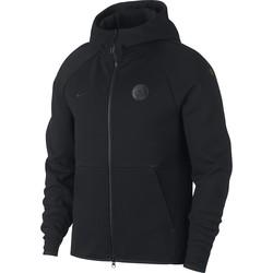 Veste survêtement Manchester City Tech Fleece noir 2018/19