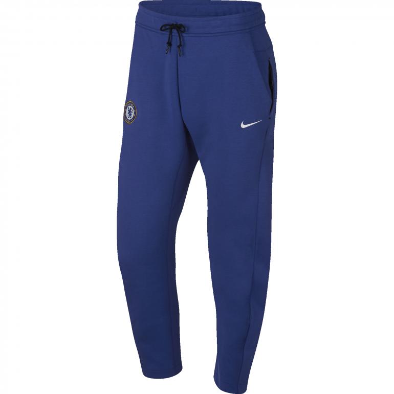 Pantalon survêtement Chelsea Tech Fleece bleu 2018/19