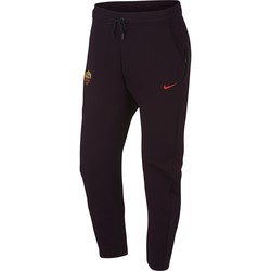 Pantalon survêtement AS Roma Tech Fleece mauve 2018/19