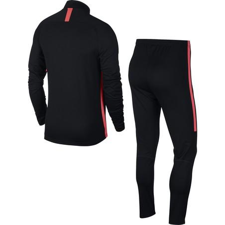 Ensemble survêtement Nike Dri-FIT Academy noir rouge 2018/19