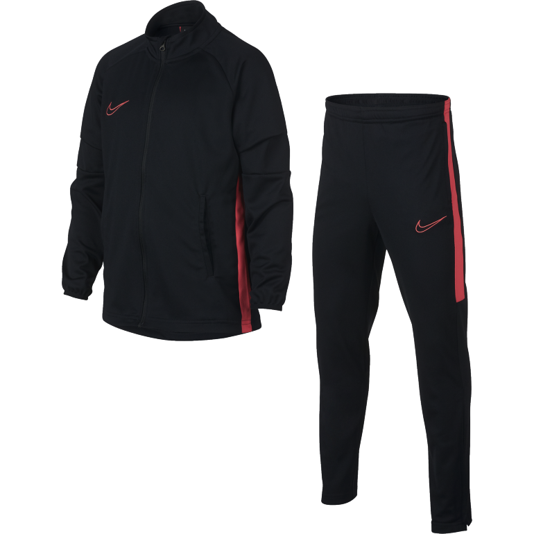 Ensemble survêtement junior Nike Dri-FIT Academy noir rouge 2018/19