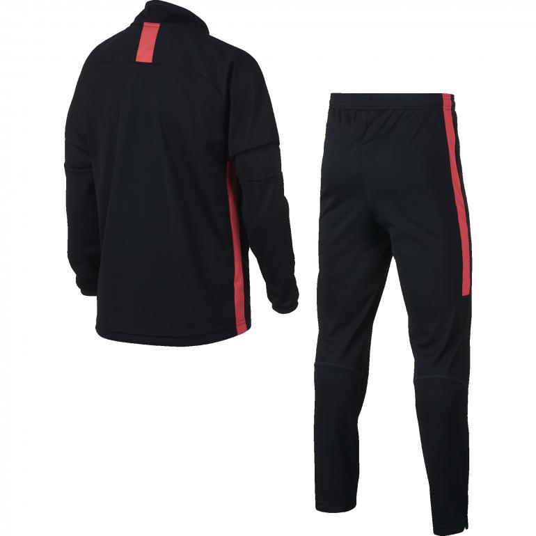 7cd9223589410 Ensemble survêtement junior Nike Dri-FIT Academy noir rouge 2018 19 ...