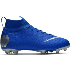 Mercurial Superfly VI junior Elite FG bleu