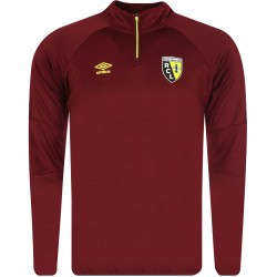 Sweat zippé RC Lens rouge 2017/18