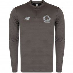 Sweat zippé LOSC gris 2018/19