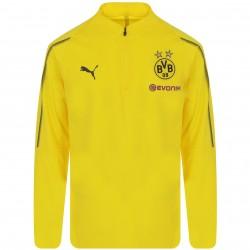 Sweat zippé junior Dortmund jaune 2018/19