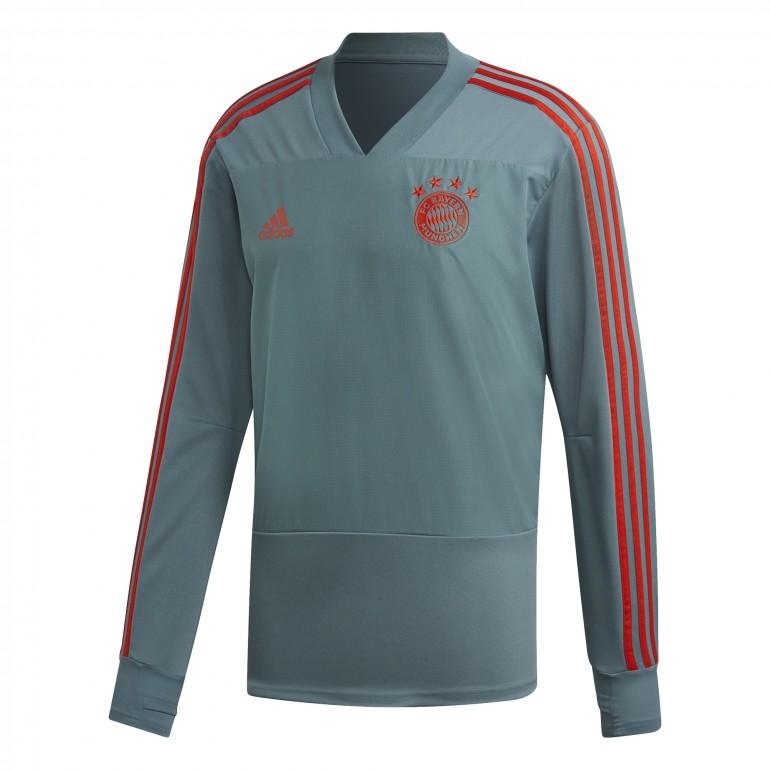 Sweat entraînement Bayern Munich gris 2018/19