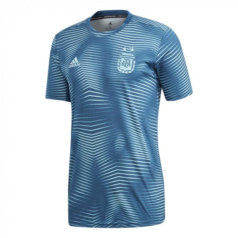 Maillot avant match Argentine bleu clair 2018/19