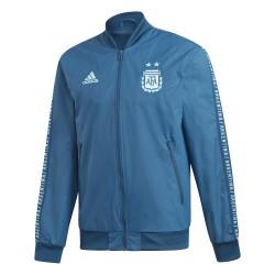 Veste survêtement Argentine anthem bleu 2018/19