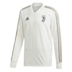 Sweat entraînement Juventus blanc 2018/19a