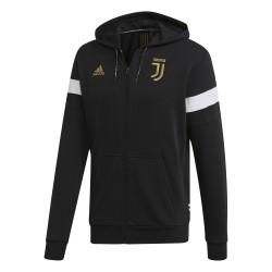 Veste survêtement Juventus FZ noir or 2018/19