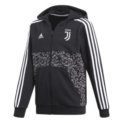 Veste survêtement junior Juventus graphic noir 2018/19