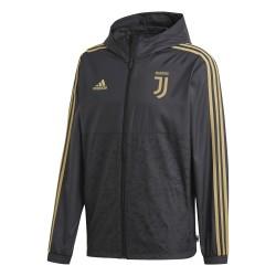 Coupe vent Juventus noir or 2018/19