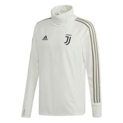Sweat entraînement col montant Juventus blanc 2018/19