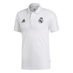 Polo Real Madrid blanc 2018/19