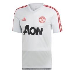 Maillot entraînement Manchester United blanc rouge 2018/19