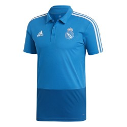 Polo Real Madrid bleu clair 2018/19