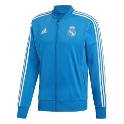 Veste survêtement Real Madrid bleu clair 2018/19