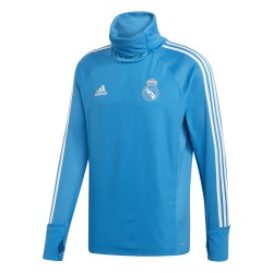 Sweat col montant Real Madrid bleu ciel 2018/19