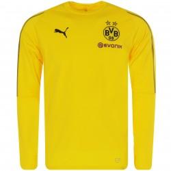 Sweat entrainement Dortmund jaune 2018/19