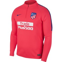 Sweat zippé Atlético Madrid rouge 2018/19