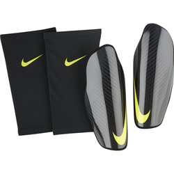 Protège tibias Nike Attack Elite noir jaune 2018/19