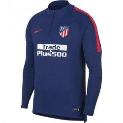 Sweat zippé Atlético Madrid bleu 2018/19