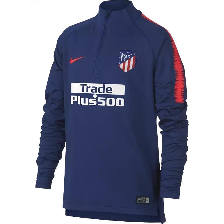 Sweat zippé junior Atlético Madrid bleu 2018/19
