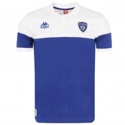 Polo Bastia blanc bleu 2016/17