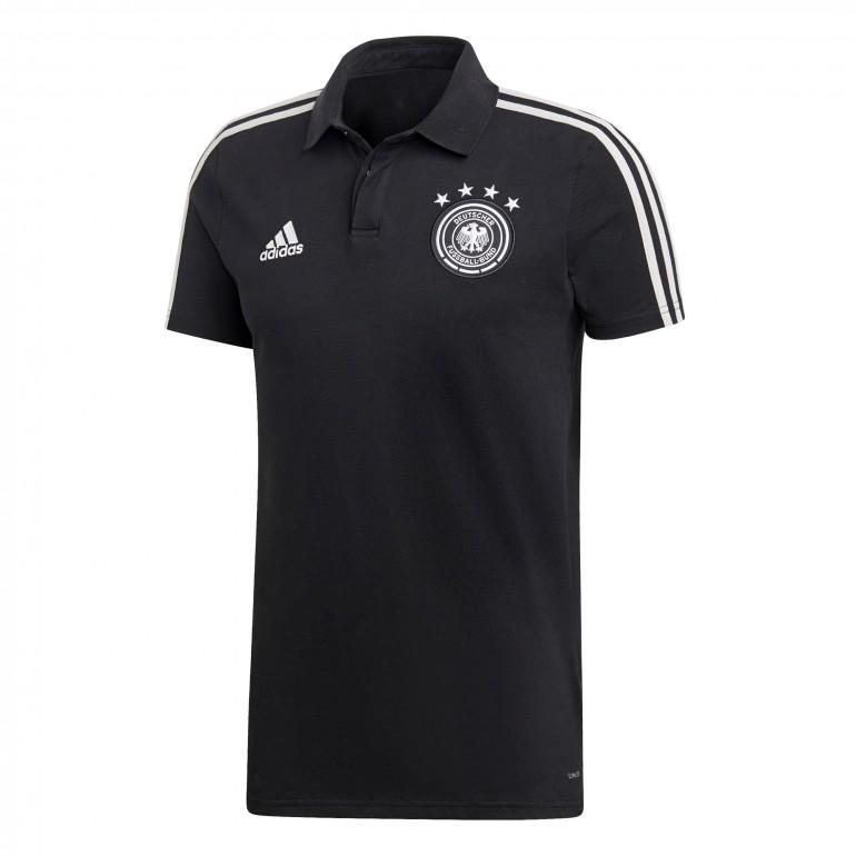Polo Allemagne noir 2018