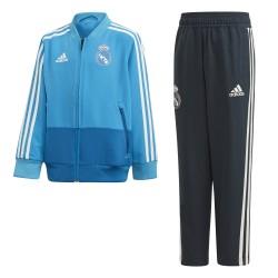 Ensemble survêtement bébé Real Madrid bleu clair 2018/19