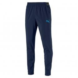 Pantalon survêtement OM micro-fibre bleu foncé 2018/19