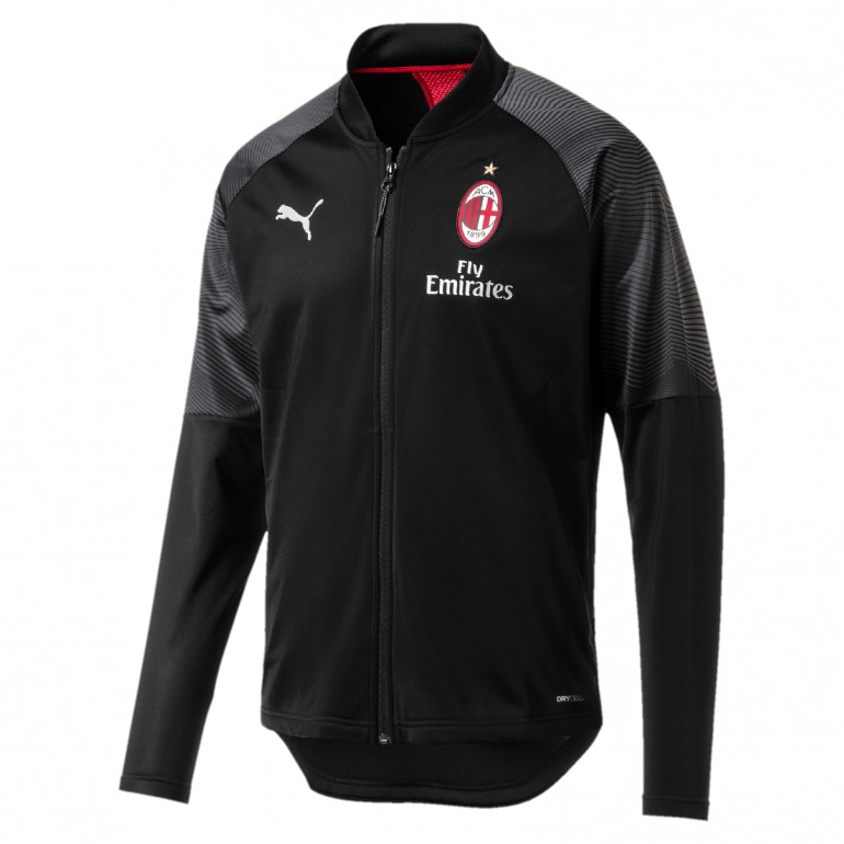 Veste entraînement Milan AC noir 2018/19