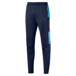 Pantalon entraînement OM noir bleu 2018/19
