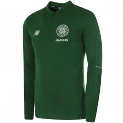 Sweat zippé Celtic Glasgow vert 2018/19