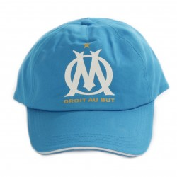 Casquette OM bleu clair 2018/19