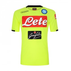 Maillot entraînement junior Naples jaune 2018/19