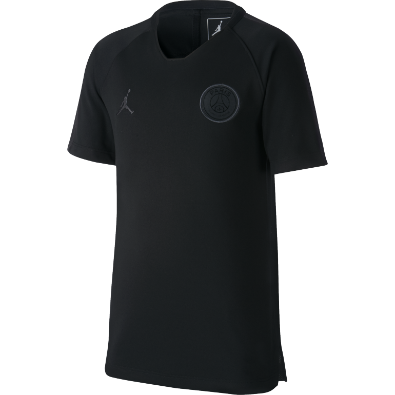 Maillot entraînement junior PSG Jordan noir 2018/19