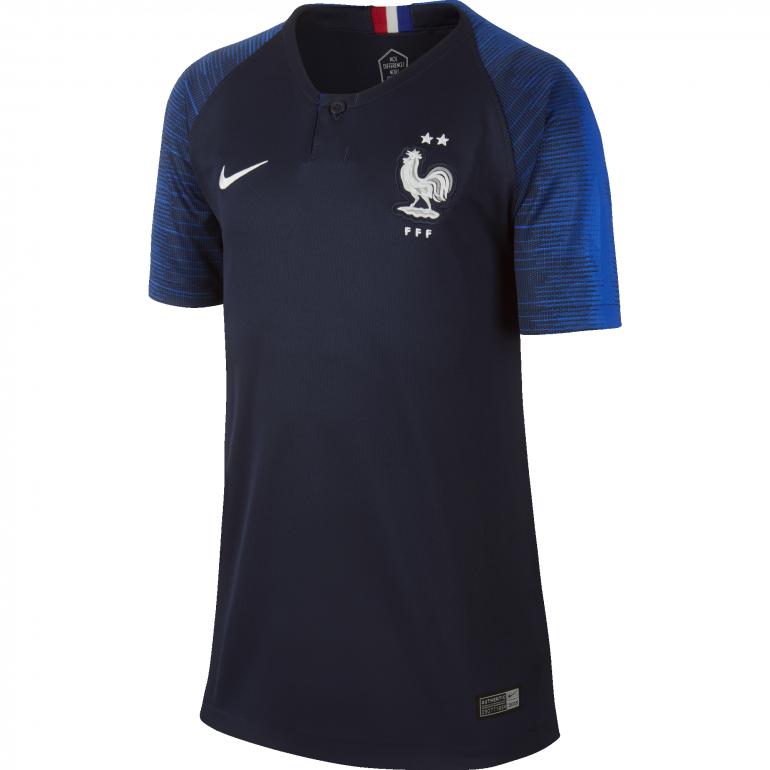 Maillot junior Equipe de France domicile 2 étoiles 2018