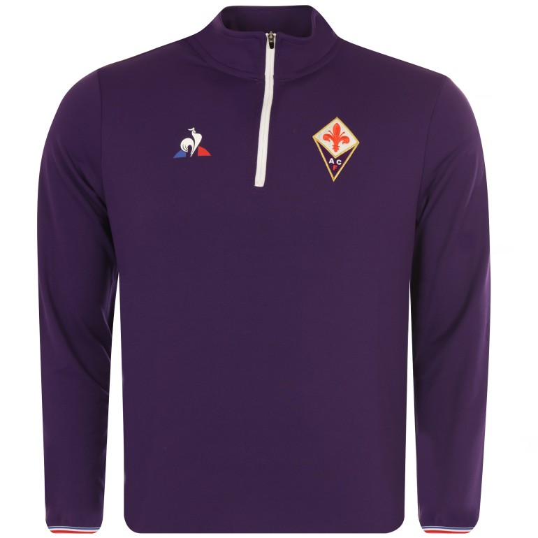 Sweat zippé Fiorentina violet 2017/18